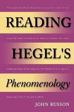 Reading Hegel's Phenomenology (Studies in Continental Thought), Russon, John, 02