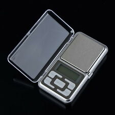 Stainless steel 500g 0.1g Digital Electronic LCD Jewelry Pocket Weight Scale IN