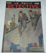 N°65 LE PETIT DETECTIVE ARNOULD GALOPIN 1930 ILLUSTRATIONS MAITREJEAN