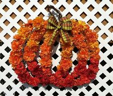 Pumpkin Wreath - Autumn Wreath - Autum Gift - Automn Pumkin - Fall Wreath
