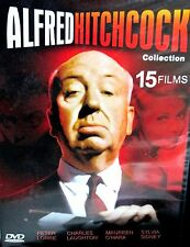 Alfred Hitchcock:15 Feature Films 2 DVD BOX , Peter Lorre, Maureen Ohara ,Horror