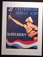 1928   Olympic Poster  AMSTERDAM