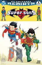 DC Comics -Super Sons #1 (Cvr A) Hall of Comics/CBCS Frank Quitely Variant