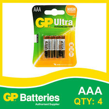 GP Ultra Alkaline AAA Battery card of 4 [MP3, CAMERAS GAMES CONSOLES + OTHERS]