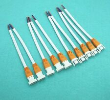 5 Pair 2Pin LED Light Strips Orange Connector Wire Locking Type Cable