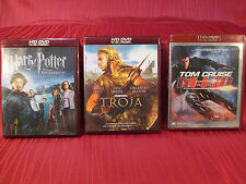 HD DVD Troja Brad Pitt,Mission Impossible 3 Tom Cruise,Harry Potter Feuerkelch