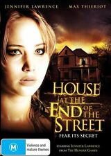 HOUSE AT THE END OF THE STREET Jennifer Lawrence DVD - R4 NEW