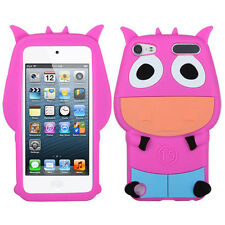 APPLE iPod Touch 5th Generation Pastel Skin Cover - Cartoon COW Design (Pink)