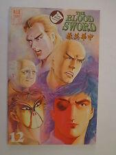 The Blood Sword MA Wing Shing M Baron T Wong #12 Jademan Comics July 1989 NM