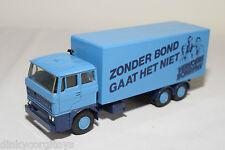 LION CAR DAF 2800 TRUCK ZONDER BOND GAAT HET NIET FNV NEAR MINT CONDITION