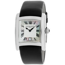 Frederique Constant MOP Dial Black Satin Strap Ladies Watch FC220M2EC6