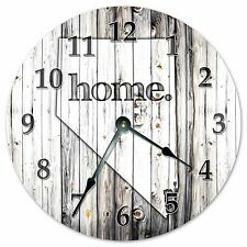 """NEVADA RUSTIC HOME STATE CLOCK - Large 10.5"""" Wall Clock - 2237"""