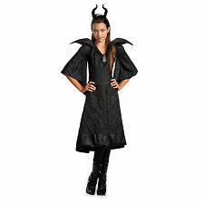 Maleficent Movie Christening Black Gown Girls Classic Costume, M (7-8)