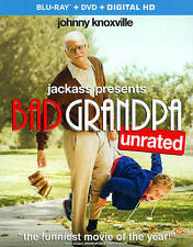Jackass Presents: Bad Grandpa (Unrated) (Blu-ray + DVD + Digital HD) DVD, ,