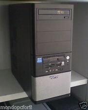 CASE PC DESKTOP NERO ASUS ''ATX VENTO ''+ ALIMENTATORE+LETTORE DVD