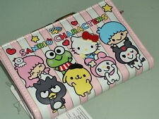 Hello Kitty mix Sanrio Character Wallet Purse Kiss Clasp coin bag MID