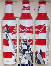 STATUE LIBERTY TORCH BUDWEISER ALUMINUM BEER BOTTLE-CAN BUD 502760 NO REDEMPTION