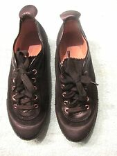Women's Black Soccer Football Shoes Size 5 By ROMIKA MADE IN WEST GERMANY