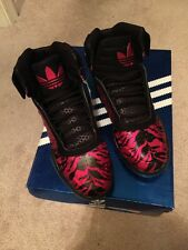 Adidas Black/Red TS Lite AMR #G67231 Basketball Shoes, Men Size 8