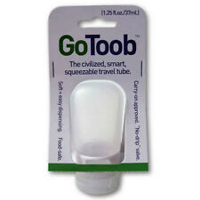 Humangear GO TOOB - 1.25 fl. oz - Clear - Carry-on Approved! - NEW!