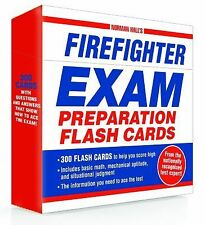 Norman Hall's Firefighter Exam Preparation Flash Cards New Ship by Priority Mail