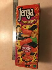 JENGA Truth or Dare Game Precision WOOD Crafted