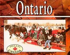 Ontario (Hello Canada), Barnes, Michael, New Books