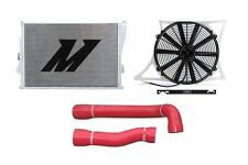 MISHIMOTO Radiator+Fan Shroud+Hose Kit Red 01-06 BMW M3 MT E46