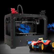 3D Drucker Dual Extruder Drucker mit optimierter, Kostenloser Versand + PLA/ABS
