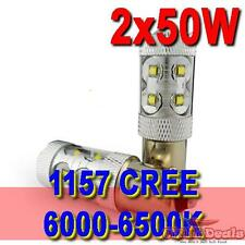 1 pair 1157 White 50W 360° CREE Led Car Fog Driving Lamp light Super Bright
