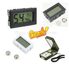 Mini Digital LCD Indoor Thermometer Hygrometer Humidity Temperature Meter Pet Sp