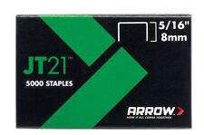 "Arrow JT21 5/16"" 8mm Staples Quantity of 5000"
