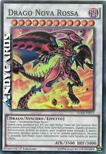 Drago Nova Rossa ☻ Super Rara ☻ LC5D IT073 ☻ YUGIOH ANDYCARDS