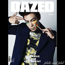 DAZED AND CONFUSED Korea Magazine October 2015 BIG BANG BIGBANG TOP T.O.P