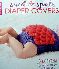 Crochet Sweet & Sporty Diaper Covers For Baby  Leisure Arts