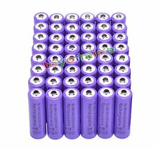 48x AA 1.2V 3000mAh Ni-MH rechargeable battery 2A cell /RC Purple