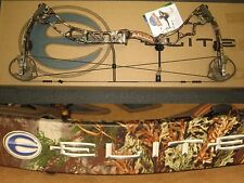 "ELITE ENERGY 32 Archery Hunting Bow 26½"" to 29"" Right Hand 55# to 65# Max-1 Camo"
