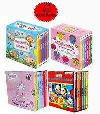 Mini Pocket Library 24 Board Books Collection Set