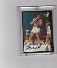 1992 Classic Muhammad Ali On Card  Autograph Signed Boxing Certified