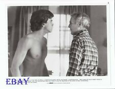 Robby Benson barechested Paul Newman VINTAGE Photo Harry And Son