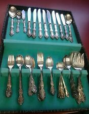 W M Rogers silverware set 70 piece beverly manor