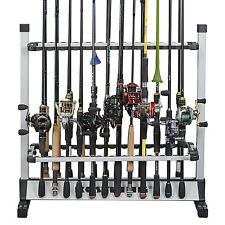 KastKing® 24-rod Portable Fishing Rod Rack Aluminum Fishing Rod Holder Rod Stand