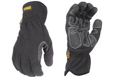 DeWalt Work Gloves DPG740 MED Mild Condition Fleece Cold Weather Winter