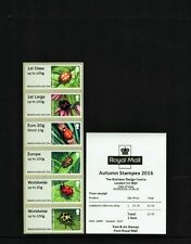 LADYBIRDS Ma16 A009 STAMPEX AUTUMN 2016 POST GO COLLECTOR STRIP OF 6