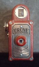 VINTAGE SUB - MINIATURE CAMERA CORONET MIDGET 16mm COLOUR - ORANGE
