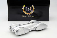 MERCEDES-BENZ (w154) record voiture 1939 argent 1:18 BoS-Models