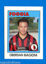 AIC Calciatori 1992-93 - Figurina-Sticker n. 99 - BIAGIONI - FOGGIA -New