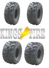 ATV Quad Buggy Geländereifen Satz 2x 25x8-12 + 25x10-12 KingsTire 25x8.00-12 M+S