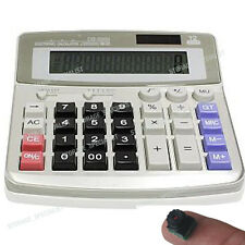 Calculator Camera Personal Home Security System HD Video Nanny (No SPY Hidden
