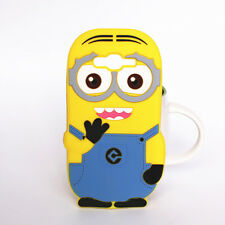 3D Minions cartoon case back cover for Samsung Galaxy J7 2015 soft silicone skin